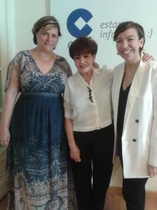 Marisol Guisasola, Paula León de Nodramapausia y yo misma ;-)